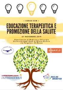 EDUCAZIONE TERAPEUTICA E PROMOZIONE DELLA SALUTE @ Dip Medicina e Chirurgia Università Milano - Bicocca