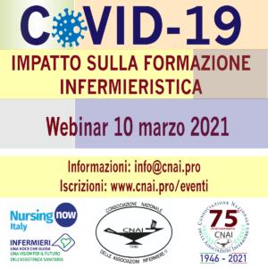 Il Covid-19 e l'impatto sulla formazione infermieristica