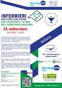 INFERMIERI UNA VOCE CHE GUIDA: UNA VISION PER IL FUTURO DELL'ASSISTENZA SANITARIA @ Aula Magna ASST Niguarda Milano