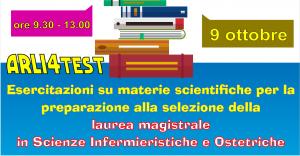ARLI4test @ Oratorio SAN LUIGI